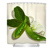 Pea Pods Shower Curtain