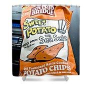 Sweet Potato Chips Shower Curtain