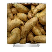 Sweet Potatoes Shower Curtain