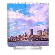 Sweet Seattle Shower Curtain