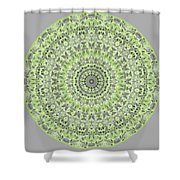 Sweet Spring Mandala Shower Curtain