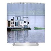 Sweet Summer Shack Shower Curtain