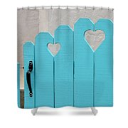 Sweetheart Gate Shower Curtain
