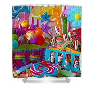 Sweets 3 Shower Curtain