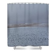 Swept Away #2 Shower Curtain