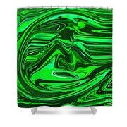 Swept Away Shower Curtain