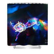 Swerve And Rave Shower Curtain