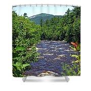 Swift River Mountain View Kancamagus Hwy Nh Shower Curtain