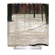 Swift Waters Shower Curtain