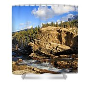 Swiftcurrent Creek Shower Curtain
