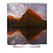 Swiftcurrent Reflection Shower Curtain