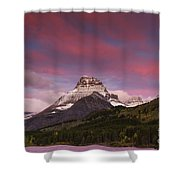 Swiftcurrent Sunrise Shower Curtain
