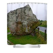 Swindon Stone Shower Curtain