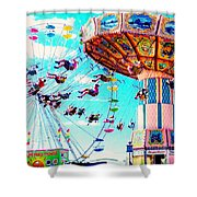 Swingers Have More Fun Shower Curtain
