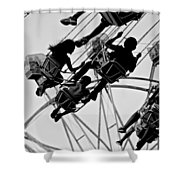 Swinging Good Time Shower Curtain
