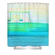 Swings Shower Curtain