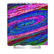 Swirl 101 Shower Curtain