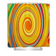 Swirl 80 Shower Curtain