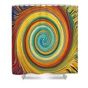 Swirl 82 Shower Curtain