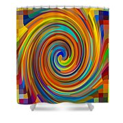 Swirl 83 Shower Curtain