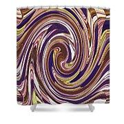 Swirl 88 Shower Curtain