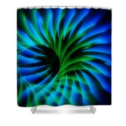 Swirled Confusion Shower Curtain