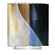 Swirls And Lines Shower Curtain
