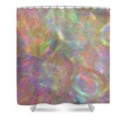 Swirls Of Light Shower Curtain