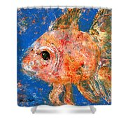 Swishy Fishy Shower Curtain