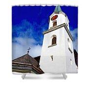Swiss Church Shower Curtain