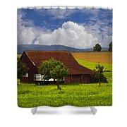 Swiss Farms Shower Curtain