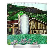 Swiss Granary Shower Curtain