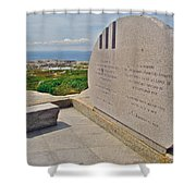 Swissair Flight 111 Of 1998 Memorial In Whalesback-ns Shower Curtain