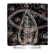 Switching Gears Shower Curtain