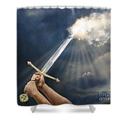 Sword Of The Spirit Shower Curtain