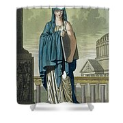 Sybil, Illustration From Lantique Rome Shower Curtain