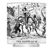 Sybil Ludington, 1776 Shower Curtain