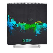 Sydney Australia Shower Curtain by Aged Pixel
