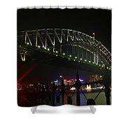 Sydney Harbour Bridge Shower Curtain