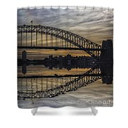 Sydney Harbour Late Afternoon Shower Curtain