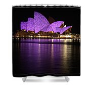 Sydney Opera During Vivid Sydney Festival Shower Curtain