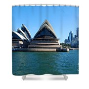 Sydney Opera House Shower Curtain