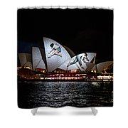 Sydney Opera House  Iv Shower Curtain