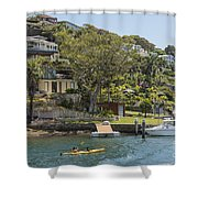 Sydney Seaside Villas Three Shower Curtain