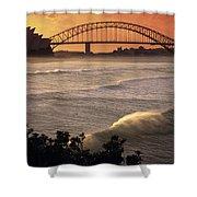 Sydney Surf Time Shower Curtain