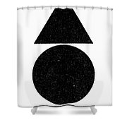 Symbol Four Elements Shower Curtain