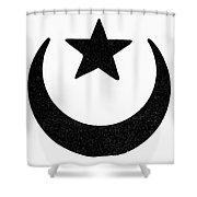 Symbol Islam Shower Curtain