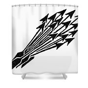 Symbol Unity Shower Curtain