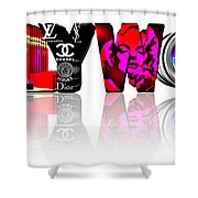 Symbollywood Shower Curtain
