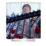 Symbols Of Istanbul Shower Curtain